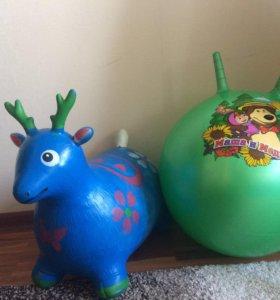 Детские игрушки-прыгунки