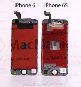 Дисплеи на iPhone 6S