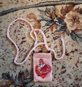 Сумочка для телефона аниме девочка