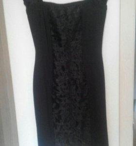 Платье чёрное 44-46