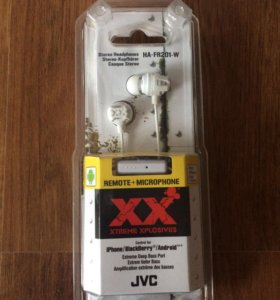 Наушники JVC Xtreme Xplosives HA-FR201