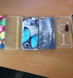 Чехлы для IPhone (5,5s)