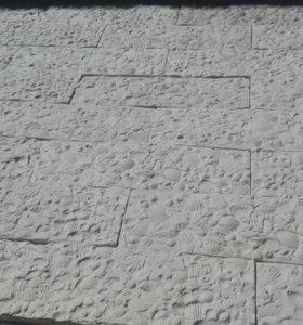 Плитка гипсовая декоративная, имитация камня