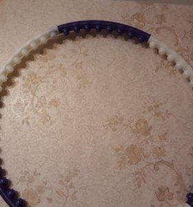 Массажный обруч с шипами