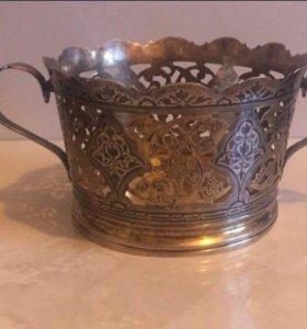 Серебряная вазочка
