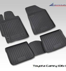 Полиуретановые коврики на Toyota Camry