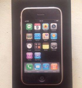 Коробка для iphone 3G 16gb