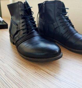 Ботинки мужские кожаные демисезон Mascotte
