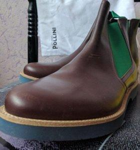 Pollini мужские ботинки. Италия