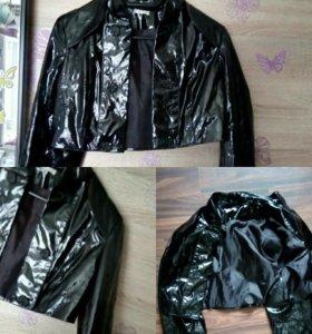 Латексная куртка