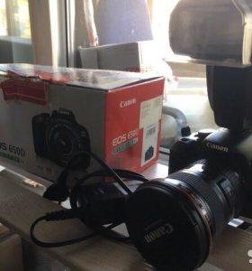 Canon eos 650d Ростест (2 аккумулятора)