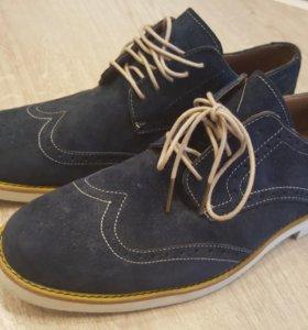 Новые Туфли замшевые SEBAGO, размер 44.