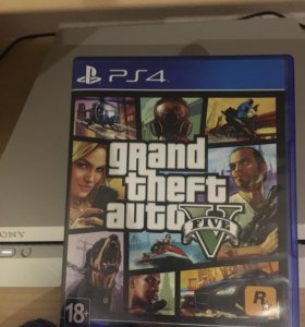 Grand theft auto 5 ( GTA 5 ) PS4