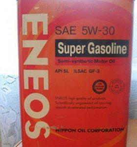 Eneos 5w30 полусинтетика. 4 литра