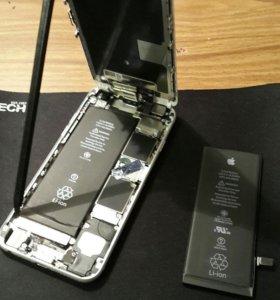 Аккумуляторы для iPhone 4, 4s, 5,5s 6, 6s, 6 plus