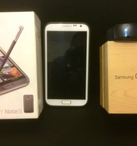 Samsung Note 2 и Samsung Gear Fit