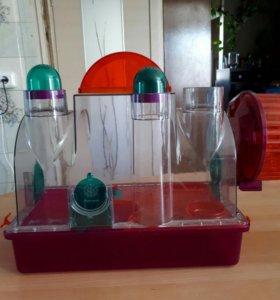 Пластиковый террариум для грызунов