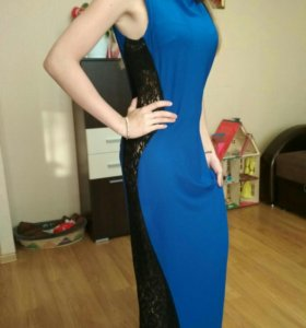 Вечернее платье в пол новое размер 42!!!