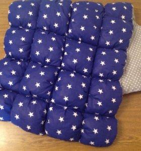 Одеяло-коврик бонбон, цельное