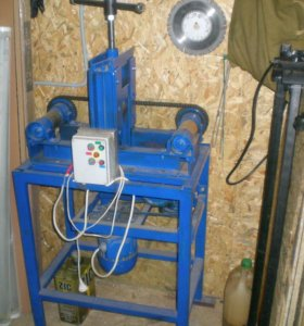 станок электрический прокаточный для изготовления теплиц и навесов из мет.проф.