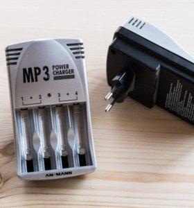 Зарядные устройства для аккумуляторов АА и ААА