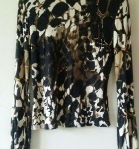 Теплая блуза-водолазка