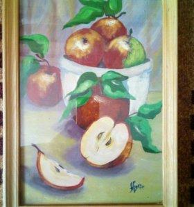 Картина.Яблочки.