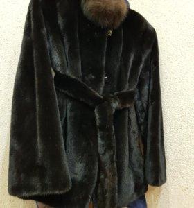 Продам Шубу норковую ( BLACGLAMA) чёрная