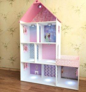 Огромный кукольный домик для Барби