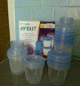 Контейнеры для грудного молока