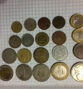 Продам все монеты