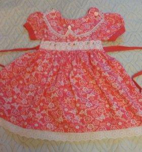 Красивое платье для девочки. Новое.