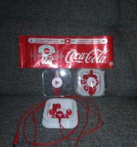 Наушники coca-cola