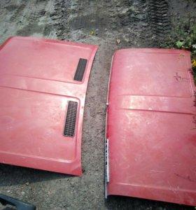 Капот крышка багажника ,и бампер задний ваз 2106
