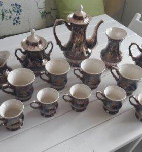 Чайный, кофейный сервиз, 17 предметов