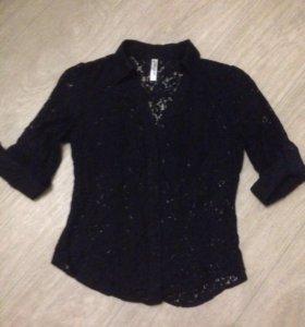 Ажурная блузка