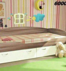 Дет . кровать Бриз 2 диал