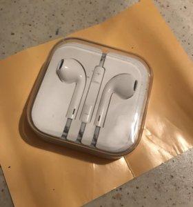 Наушники IPhone EarPods новые