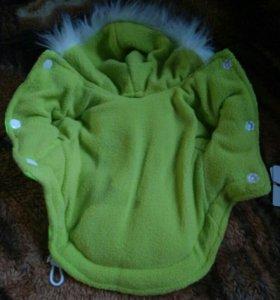 Костюм для собак, зелёный, размер-xs.