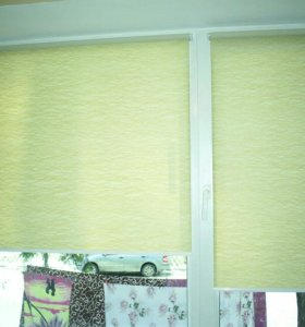 Рулонные шторы на окна.