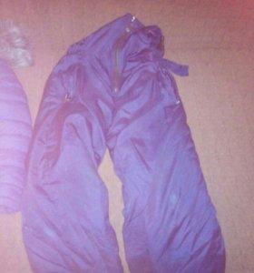 Продам куртку и штаны на зиму