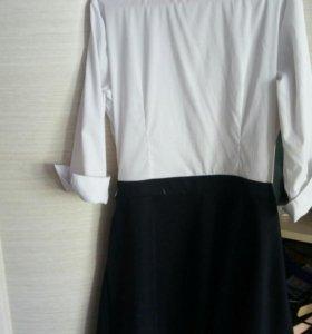 Платье школьное и туфли