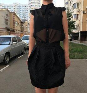 Блузка и юбка, р-р S