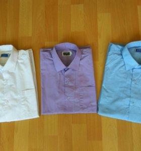 Рубашки, пиджак, жилет для школы 152-158 размер