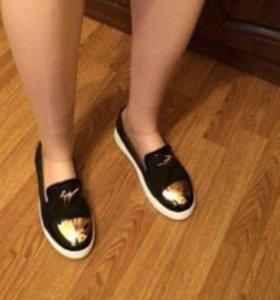 Кеда-туфли новые