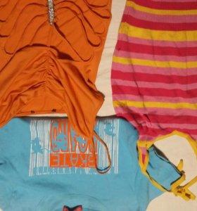 Топы,футболки Вещи на XS,S.Обмен