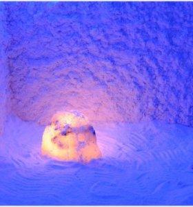 Посещение соляной пещеры, Коркино
