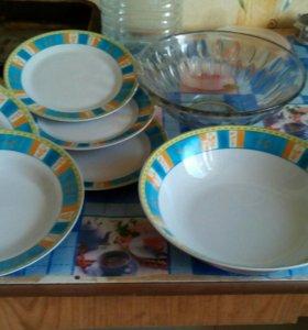 Тарелки,салатницы