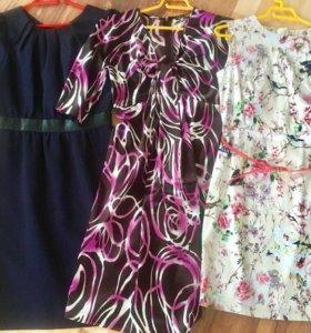 Платья разные р.42-44