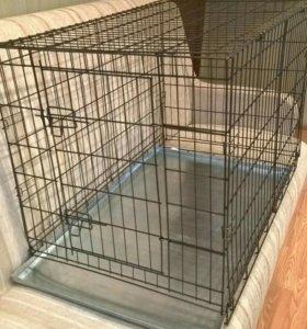 Клетка- переноска для всех пород собак и щенков
